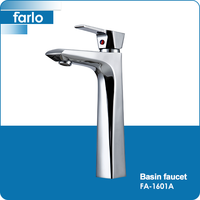 FARLO bathroom 2 hole basin mixer taps