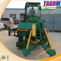 whole stalk sugar cane combine harvester machine / sugar cane cutter