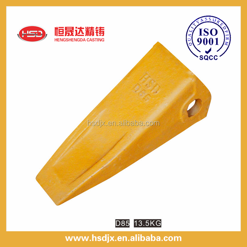 D85 backhoe bucket teeth /loader parts / loader bucket teeth for wholesale
