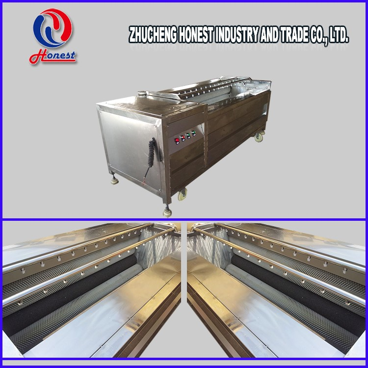 Chips and French Fries Used Industrial Potato Peeling Machine for Pro-processing