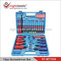 72pc Screwdriver Set