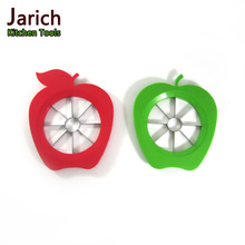 red apple green apple shaped fruit tool apple cutter slicer