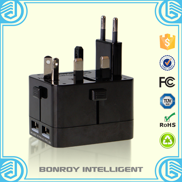electrical accessories multi functional phone charger worldwide travel adapter with usb