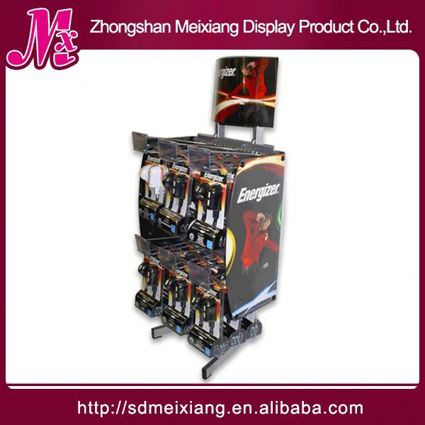 cd/dvd display rack, MX9262 display shelf talker with price strip