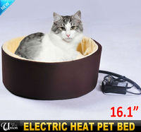 USB warm luxury pet ped bedding electrical pet house heating pet dog sleeping bag bed