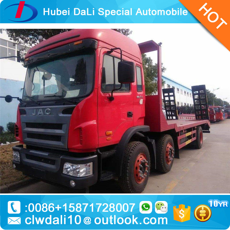 JAC Cheap price 2 axle Low Bed Transport Vehicles