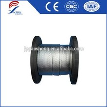 Hot-dip Galvanized PC Steel Twisted Wire Rope for Sale