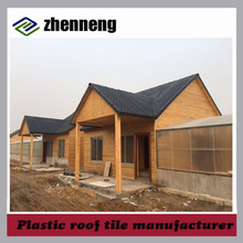 China cheap Green roofing materials synthetic resin tile Factory