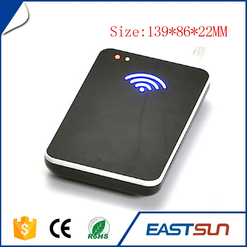 USB Desktop UHF RFID Membership Magnetic Card Reader Writer