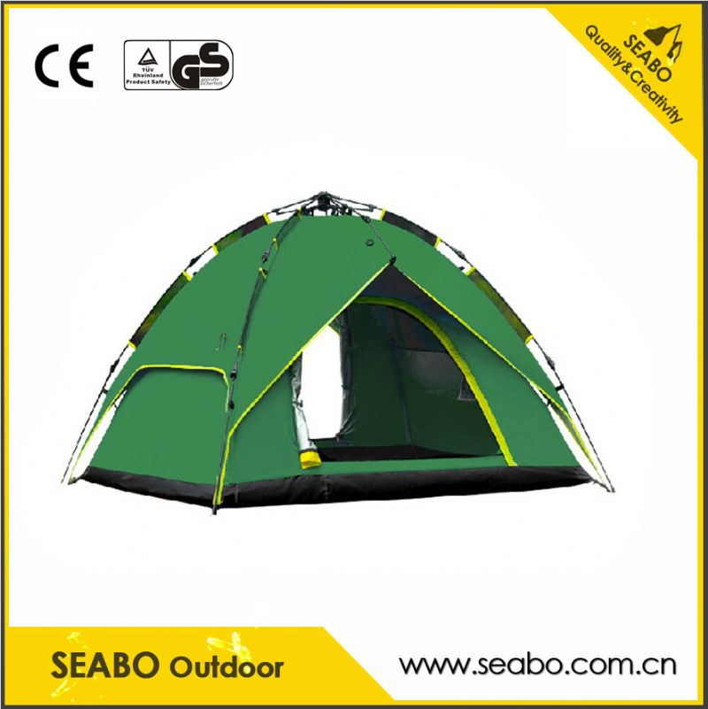 Fashion design family 5-6 person camping tent for outdoor for wholesales