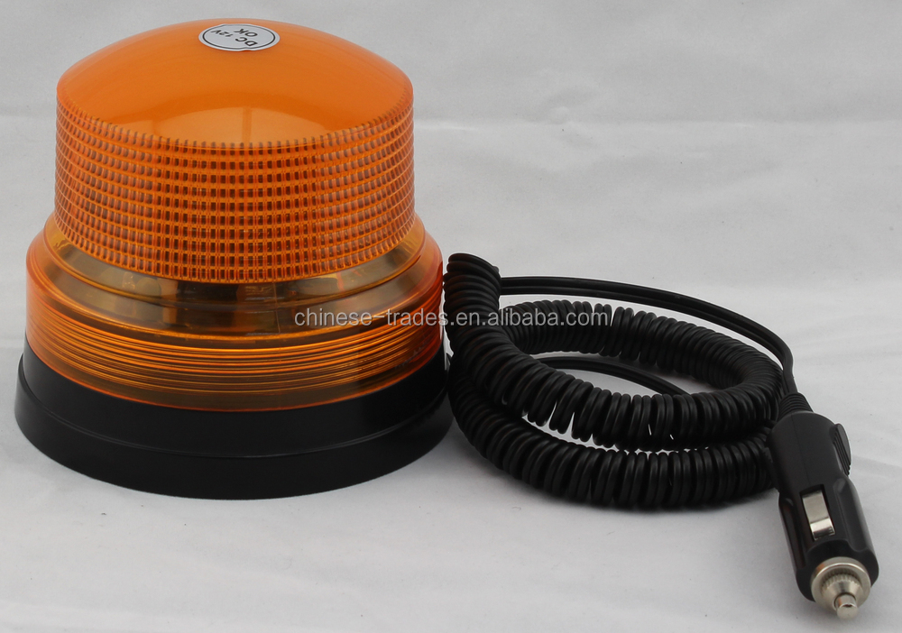 new developed products competitive price good quality waterproof strobe warning light with pc lens