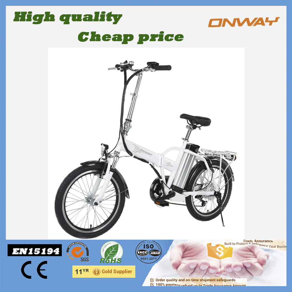 manufacture Mini Electric Bicycle Folding Bike for unisex