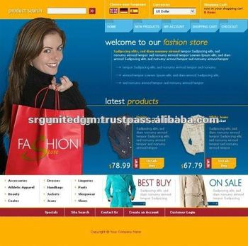 E-commerce Website Design and Development