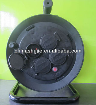 16A/250V VDE plug German sockets Industrial france cable wheel