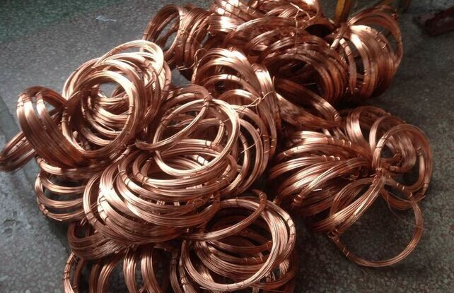R410A copper pipe/refrigerant copper tube /copper pipe price per kg