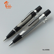 New model stainless steel wire braid metal ball pen