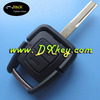 Shock price smart key covers with 2 buttons HU43 key blade for car key opel opel key cover