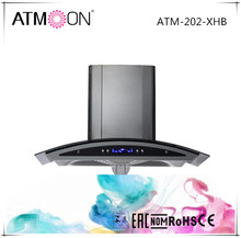 2017 Hot Sale Touch Switch 90cm European Style Wall Mounted Range Hood Cooker Hood Chimney Hood