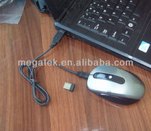 2.4ghz rechargeable optical wireless mouse