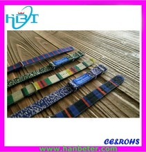 Popular vogue james bond nato strap with any material custom