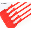 Finger Removable Bar Code Airline Security Plastic Seal