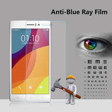 2016 New Arrival Anti light blue super hard anti broken film screen protector for OPPO R5