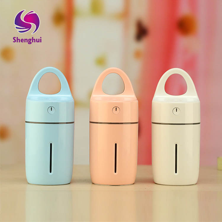 2017 New Arrival Essential Oil Diffuser USB Ultrasonic Mini Car Air Humidifier