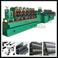 steel square pipe making machine ,steel pipe welding line