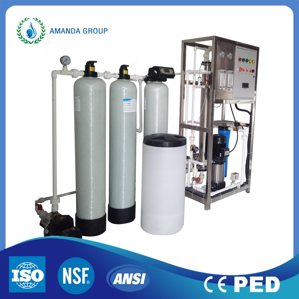 Reverse osmosis mineral water purification plant / RO pure water purification system