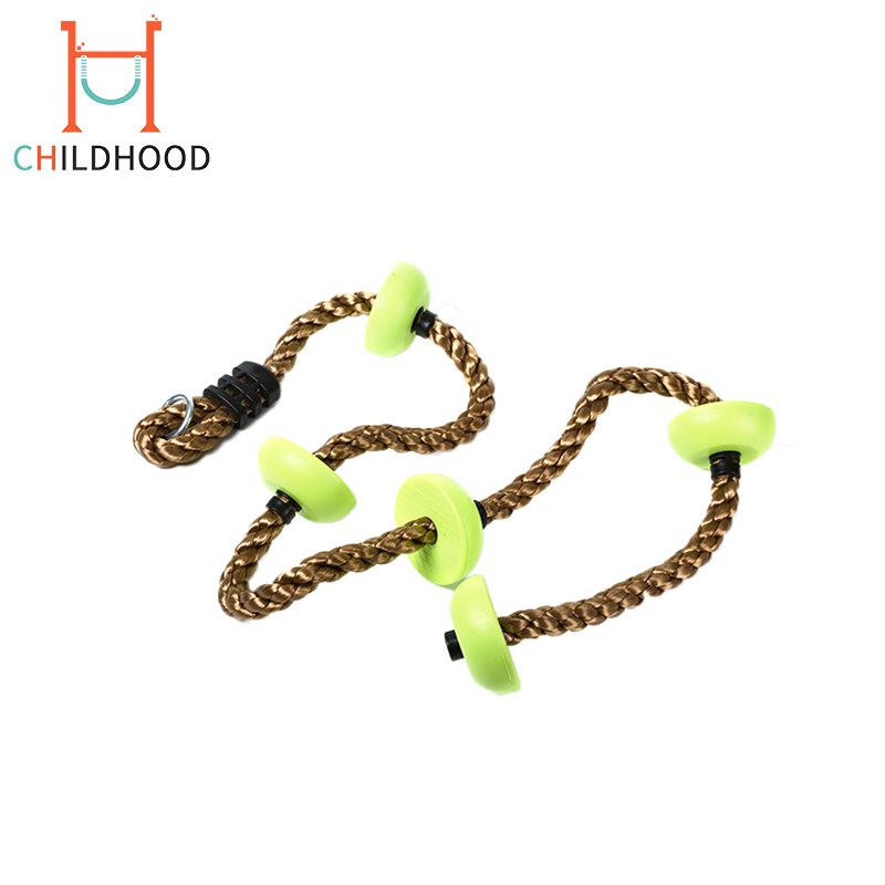 New Physical Training Fitness Outdoor Rope Swing Children Swing Set Climbing Rope Swing