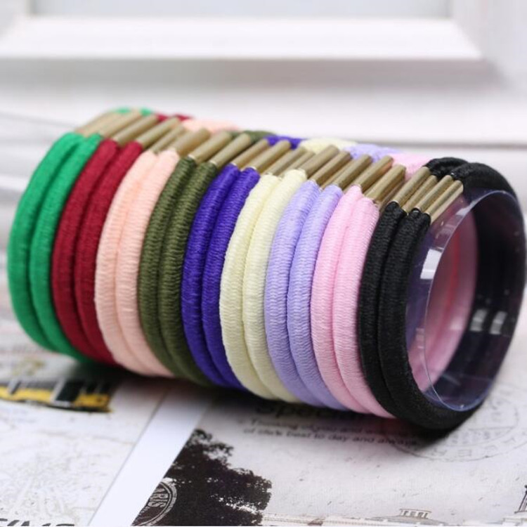 Factory Wholesale Fashion Women Girls Hair Accessories Elastic Hair Ties bands