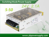 LED Driver 24V 50W Constant Voltage LED Driver With Rainproof Led Power Supply