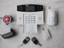 LCD alarm wireless wired safety alarm for home security device