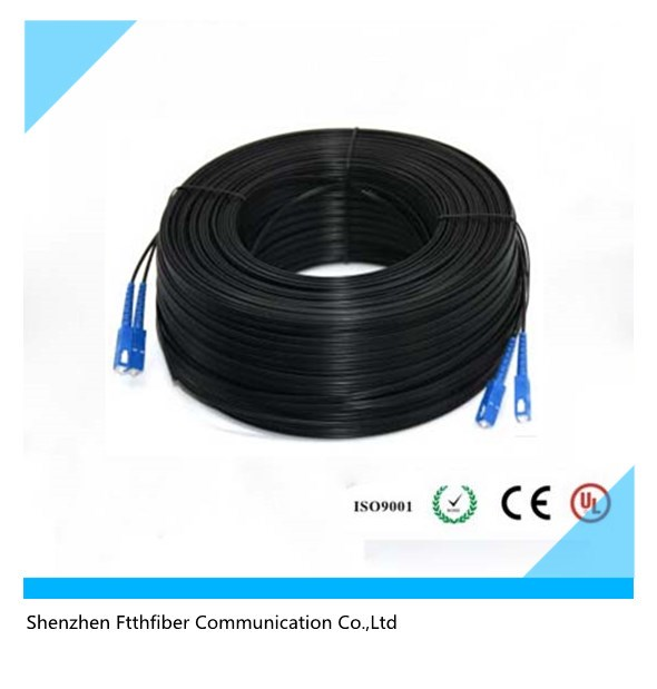 singlemode multimode indoor/outdoor SC/LC/FC/ST FTTH drop cable patch cord