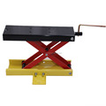 Single scissor cruiser lift stand MX lift 90mm-405mm height adjustable