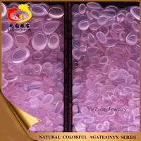 Wholesale mixed sizes oval shaped cabochon natural rose quartz