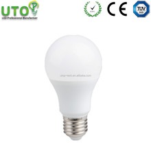 UTOP brand AC180-260v Aluminum+pc housing 9w e27 led light bulb