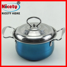 Promotional Kitchen Shallow Stainless Steel Nonstick Parini Cookware Casserole