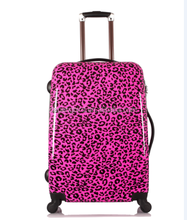 colorful luggage bag cabin size travel luggage student flight boarding suitcase stripe trolley luggage case