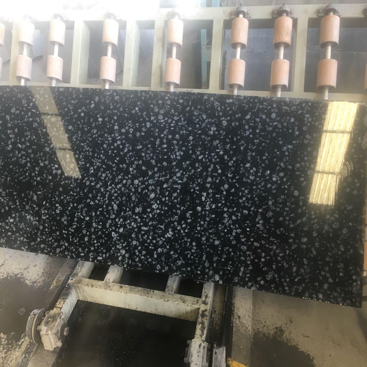 natural black color granite COIN BLACK GRANITE SLAB-original polished finished in cut to size tiles and slabs export all country