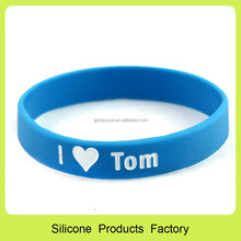 jelly rubber bracelets personalized plastic wristbands