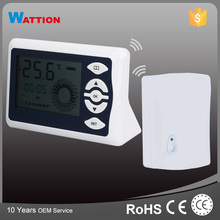 Large LCD display Programmable RF Wireless Digital Room Thermostat
