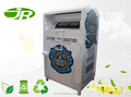 Steel Clothing Donation bin manufacture company