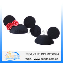 Fashion wool felt Party Hat with mouse ear for cotillon