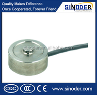 T104 force load cell ,compression load cell ,analog sensor for force measurement in limited spaces