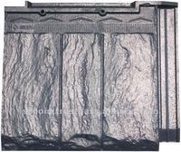 Stone-like roof tile
