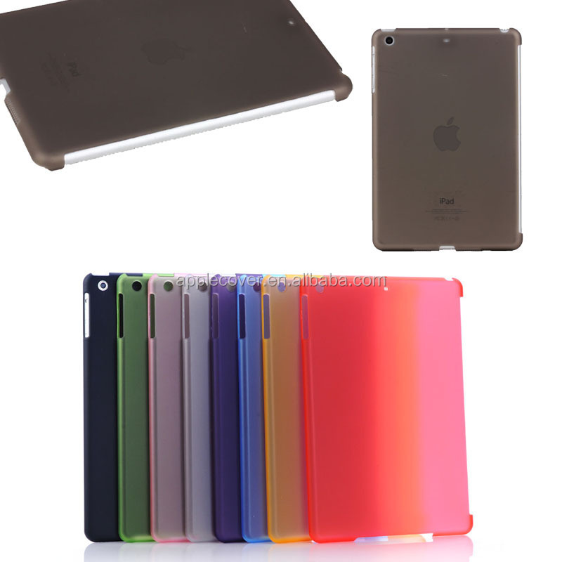 New Arrive Colorful Pattern Matte PC Hard Skin Case for iPad mini 1 2 3