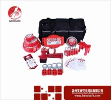 good safety lockout tagout plastic combination lock box