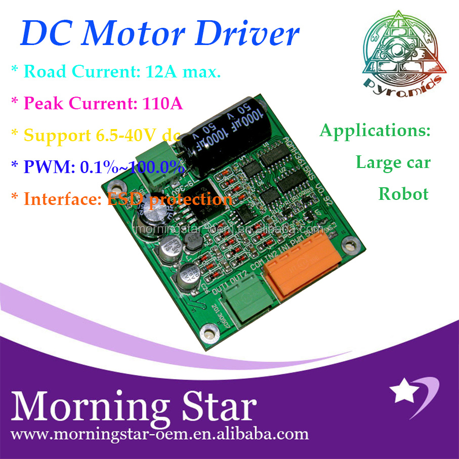 DC 15A 9V 12V 24V 36V 38V 40V Max 360W Motor Speed Control PWM Controller Regulator support PWM function for truck & toys & car