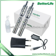 Betterlfe 2013 new arrival rago with DCT 3.5ML hollow cover atomizer big vapor e cigarette with adjustable voltage